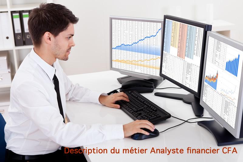 Description du métier analyste financier cfa