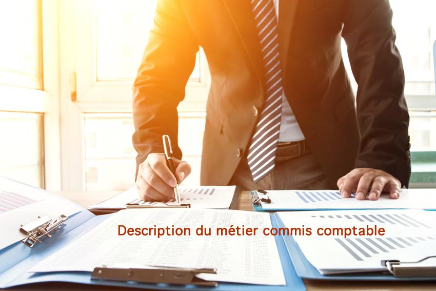 Description de poste de commis comptable