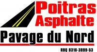 logo Poitras Asphalte/Pavage du Nord/Pavage du Nord